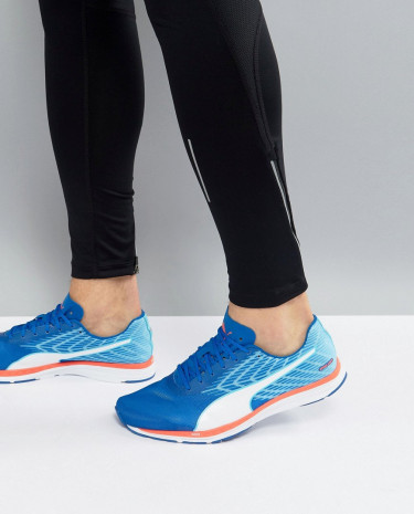 Fashion Shop - Puma Running Speed 100 Ignite Sneakers In Blue 18852607 - Blue