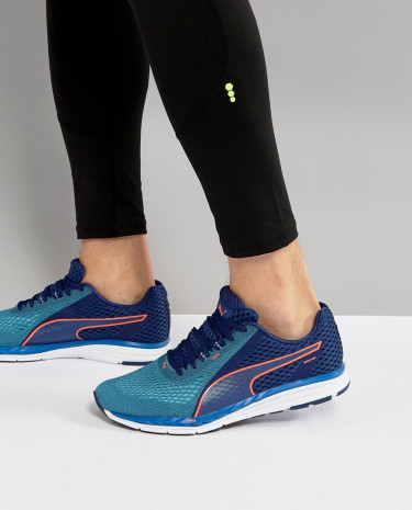 Fashion Shop - Puma Running Speed 500 Ignite 2 Sneakers In Blue 18995201 - Blue