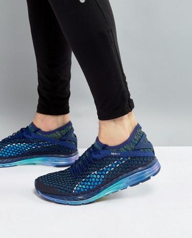 Fashion Shop - Puma Running Speed Ignite Netfit Sneakers In Blue 18994201 - Blue