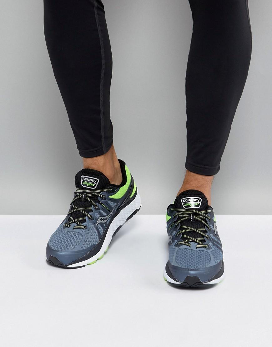Fashion Shop - Saucony Running Echelon 6 Sneakers In Grey S20384-2 - Grey