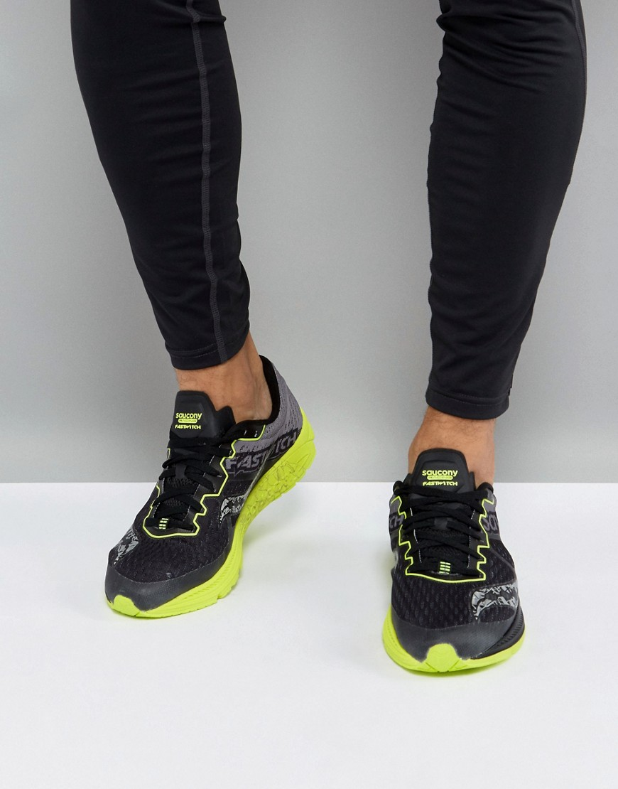 Fashion Shop - Saucony Running Fastwich 8 Sneakers In Black S29032-1 - Black