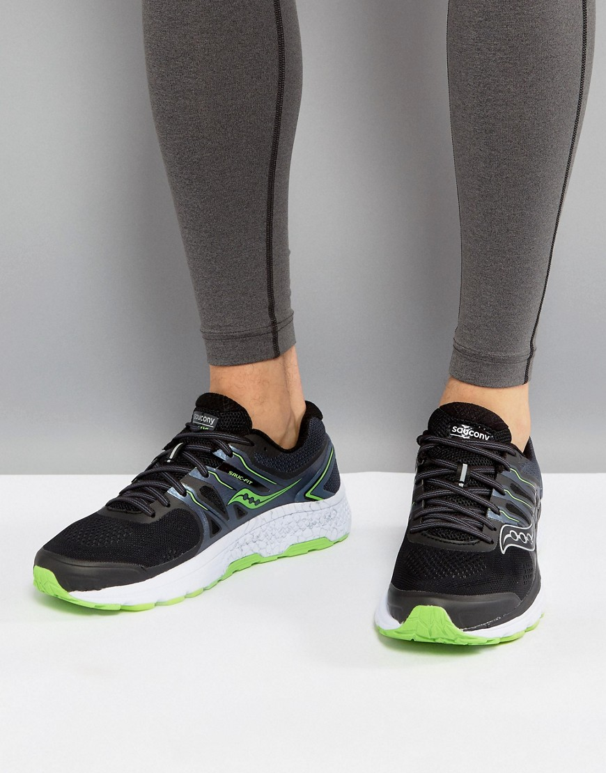 Fashion Shop - Saucony Running Omni 16 Sneakers In Black S20370-3 - Black