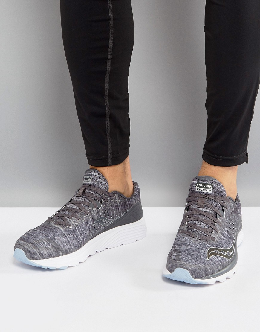 Fashion Shop - Saucony Running Runlife Chromaflex Kinvara 8 Sneakers In Grey S20356-20 - Grey