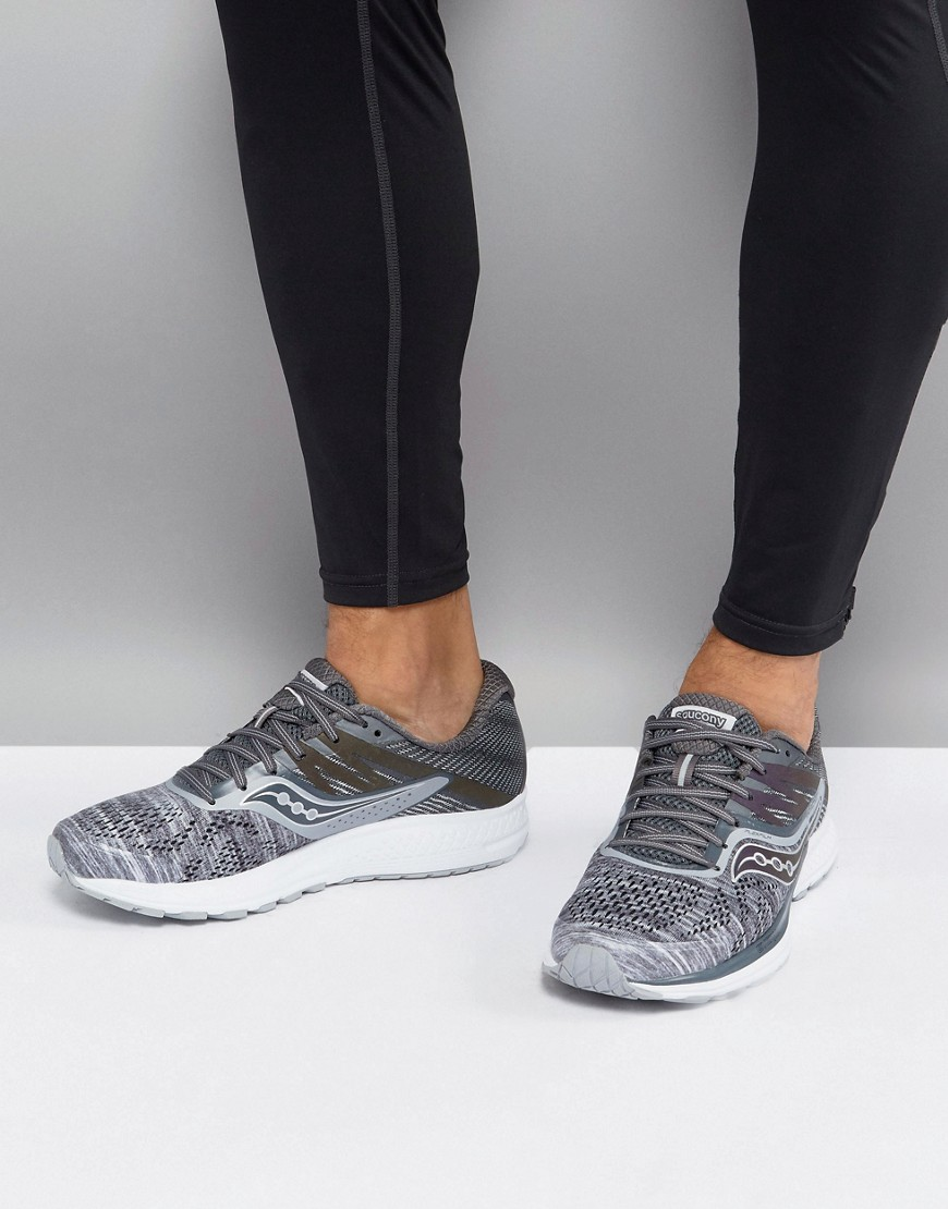 Fashion Shop - Saucony Running Runlife Chromaflex Ride 10 Sneakers In Grey S20373-20 - Grey