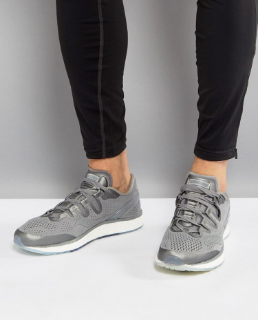 Fashion Shop - Saucony Running Runlife Freedom ISO Sneakers In Grey S20355-51 - Grey