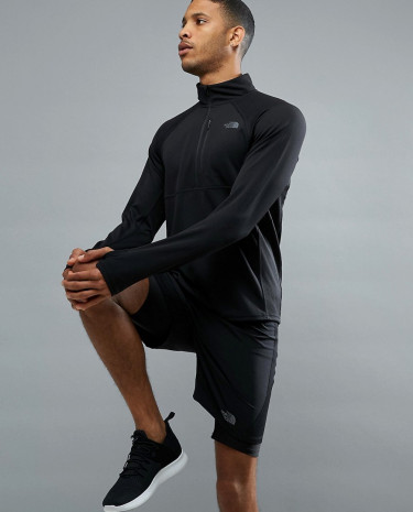 Fashion Shop - The North Face Mountain Athletics Impulse 1/4 Zip Top in Black - Black