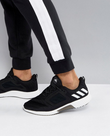 Fashion Shop - adidas Running Climacool Sneakers In Black S80707 - Black