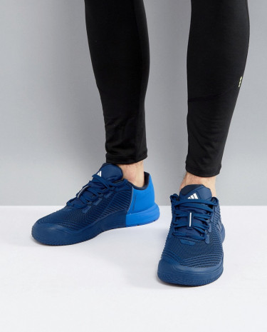 Fashion Shop - adidas Training Crazy Power TR Sneakers In Blue BA8930 - Black