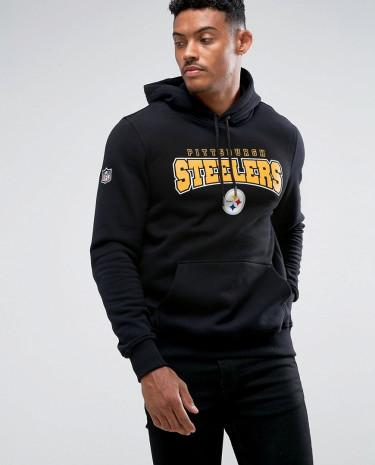 Fashion Shop - New Era Pittsburgh Steelers Hoodie - Black