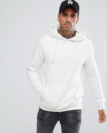 Fashion Shop - Pull & Bear Hoodie In White - White
