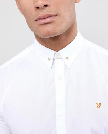 Fashion Shop - ASOS DESIGN collar bar in gold - Gold