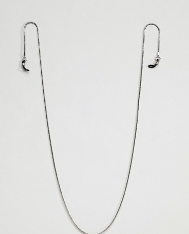 Fashion Shop - DesignB Silver Sunglasses Chain Exclusive To ASOS - Silver