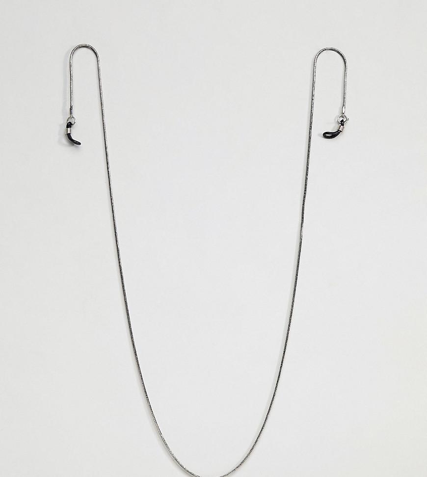 Fashion Shop - DesignB Silver Sunglasses Chain Exclusive To ASOS - Silver