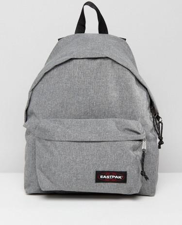 Fashion Shop - Eastpak Padded Pak'R Backpack in Grey 24L - Black
