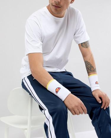 Fashion Shop - Ellesse Addo Sweatband In White - White