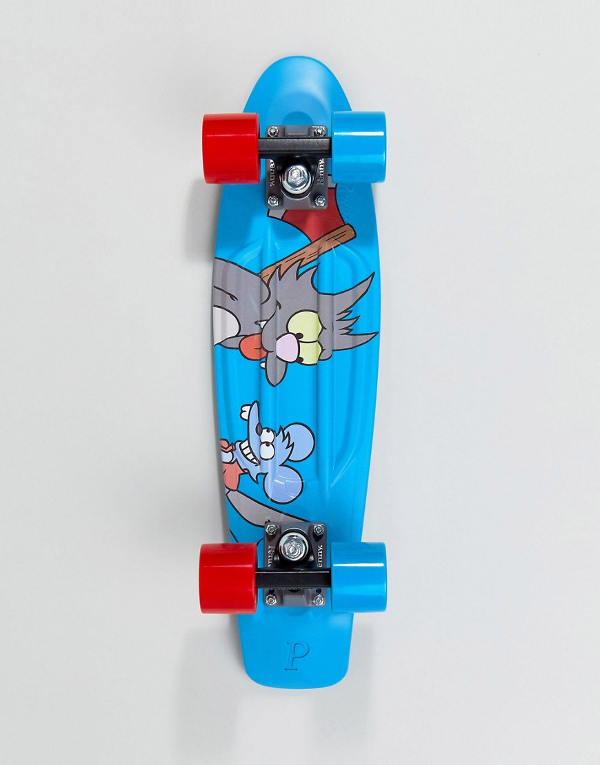 Fashion Shop - The Simpsons x Penny itchy & scratchy skateboard - Blue