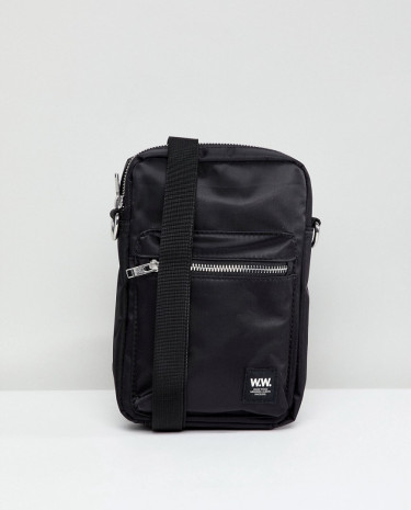 Fashion Shop - Wood Wood Rena Flight Bag - Black