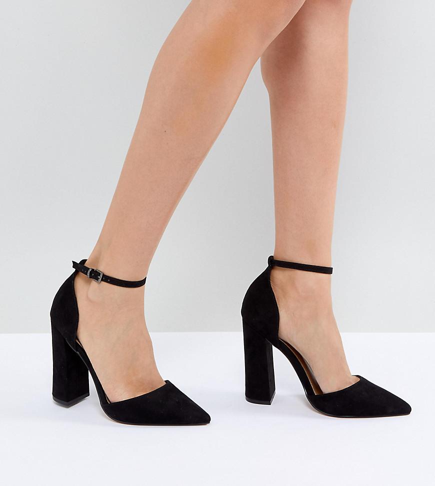 Fashion Shop - ASOS DESIGN Pebble pointed high heels - Black