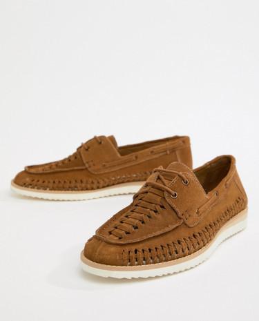 Fashion Shop - Frank Wright Woven shoes In Tan - Tan