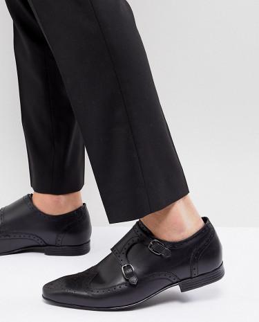 Fashion Shop - KG By Kurt Geiger Kilcardy Monk Shoes - Black