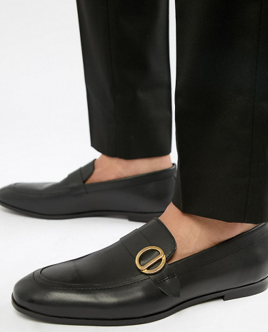 Fashion Shop - KG By Kurt Geiger Wide Fit Rushden Loafers - Black