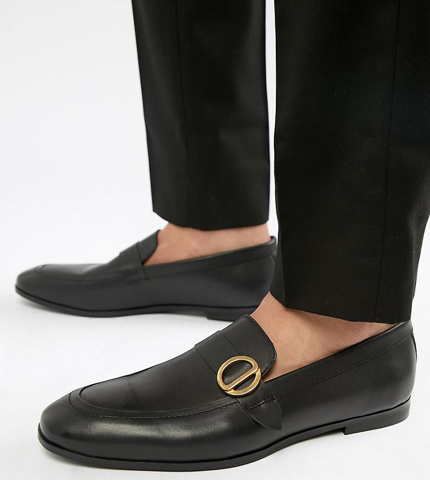 Fashion Shop - KG By Kurt Geiger Wide Fit Rushden Loafers - Black