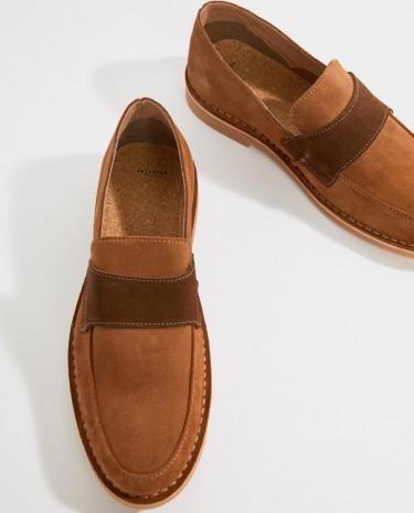 Fashion Shop - Selected Homme Desert Loafer - Tan