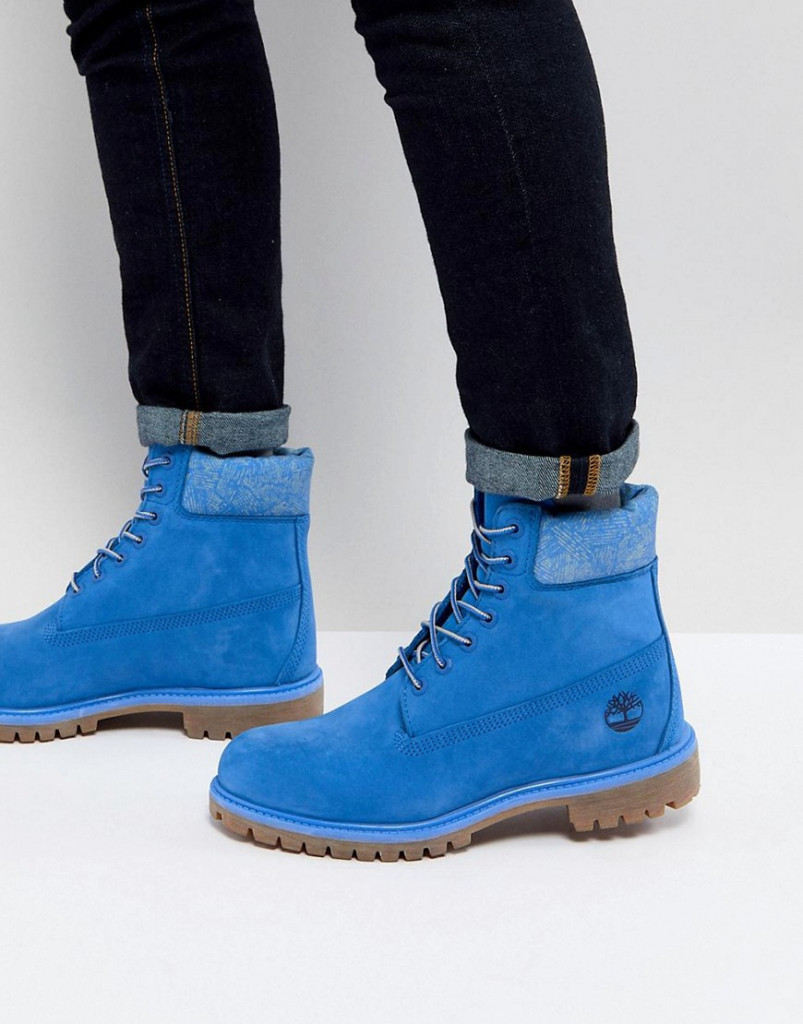 Fashion Shop - Timberland Iconic 6 Inch Premium Boots - Blue