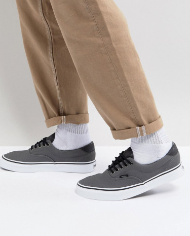 Fashion Shop - Vans Era Sneakers In Grey - Grey