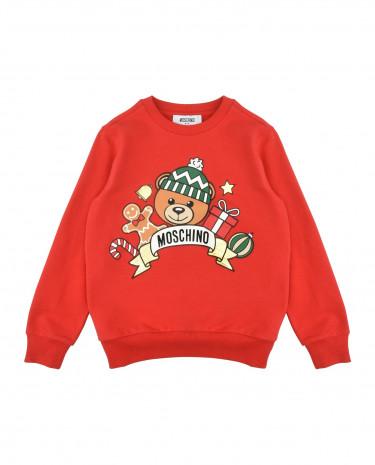 Fashion Shop - MOSCHINO KID Sweatshirts - Item 12090245