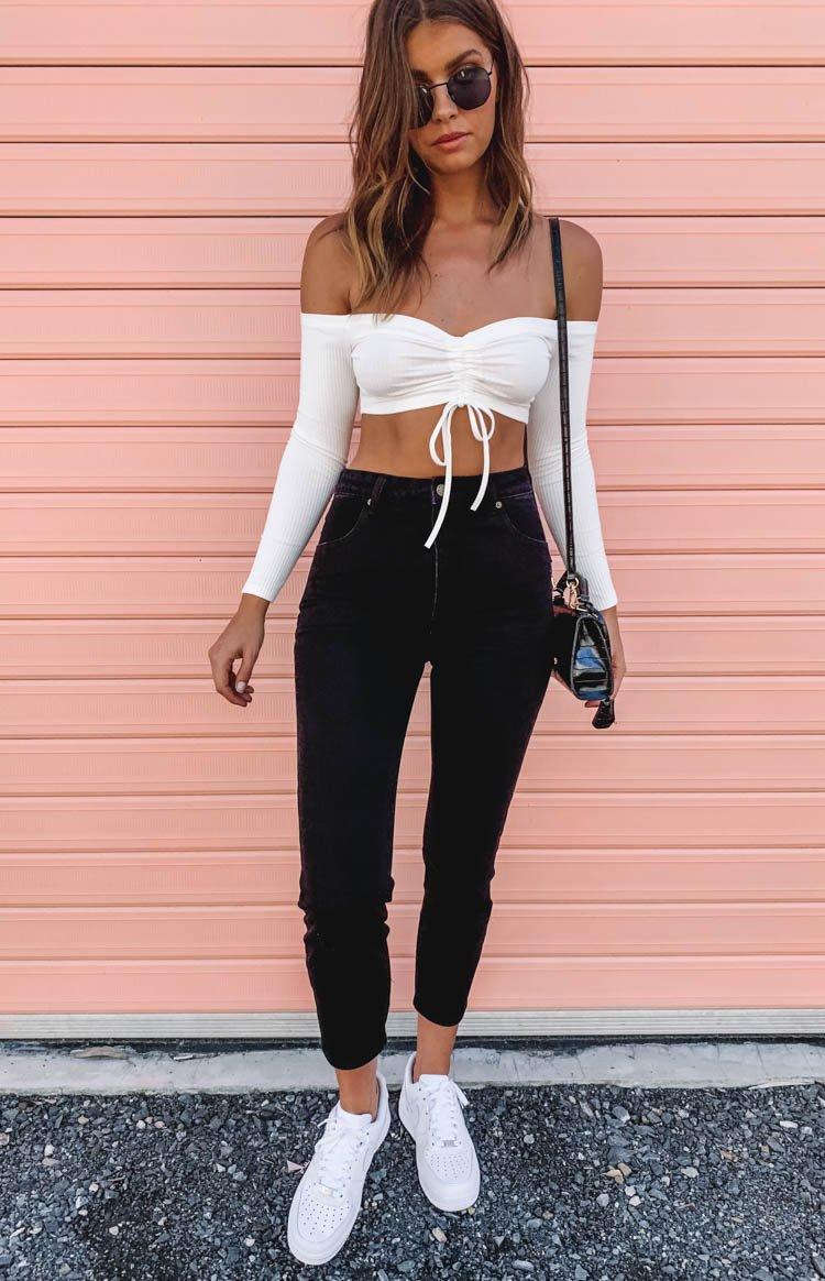 Fashion Shop - Rolla's Dusters Jean Comfort Black - 24