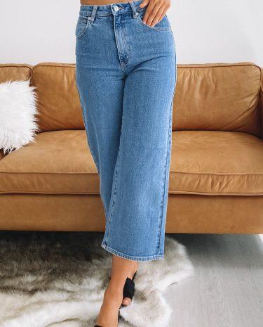 Fashion Shop - Abrand A Street Aline Crop Jeans Georgia - 12