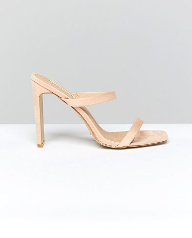 Fashion Shop - Billini Dana Heel Blush Suede - 5