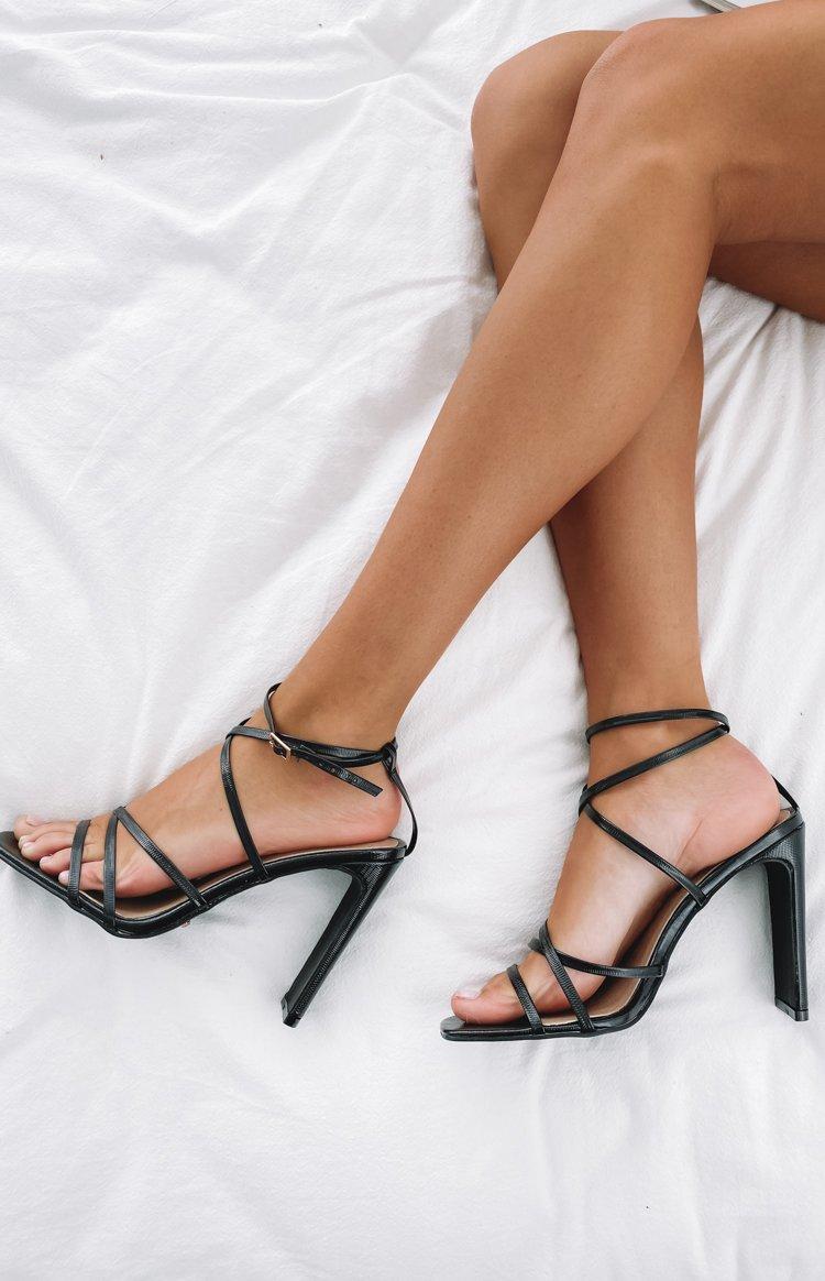 Fashion Shop - Billini Demi Heels Black - 9