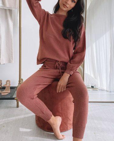 Fashion Shop - Kingston Jumper Rust - L