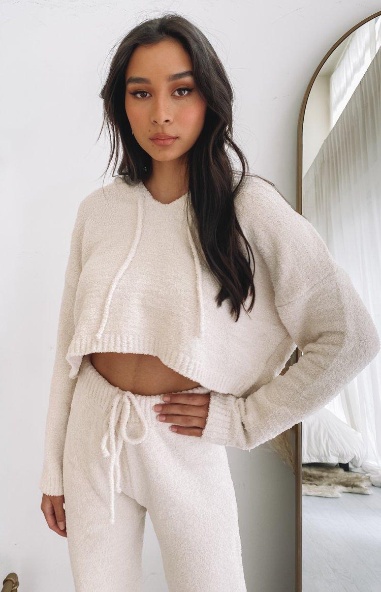 Fashion Shop - Sakura Hoodie Cream - L