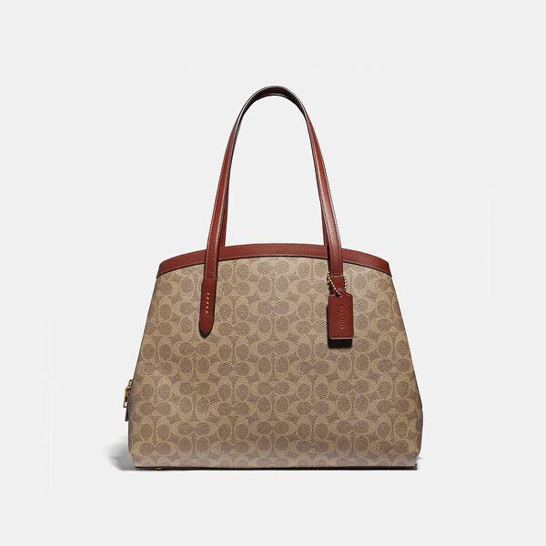 Fashion Shop - Coach Charlie Carryall 40 In Signature Canvas