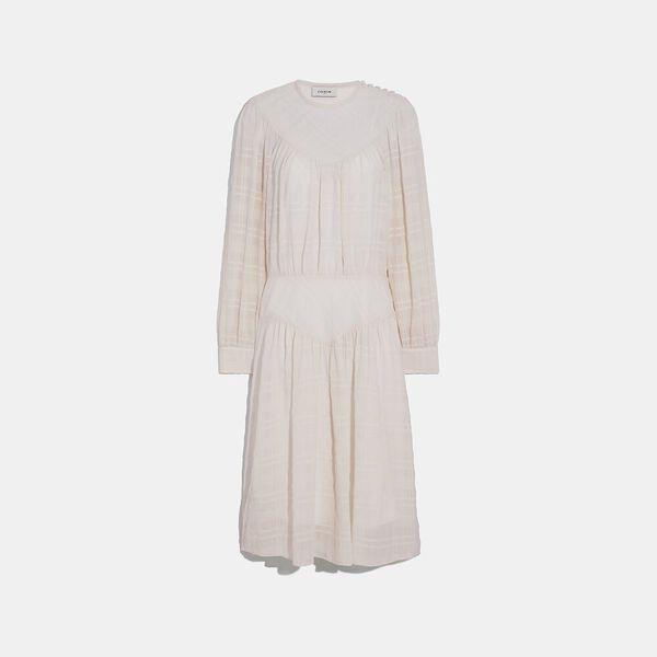 Fashion Shop - Coach Plaid Yoke Dress