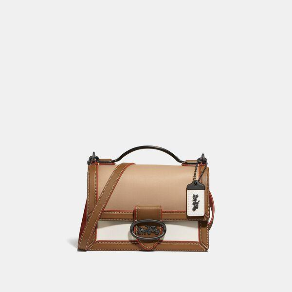 Fashion Shop - Coach Riley Top Handle 22 In Colorblock